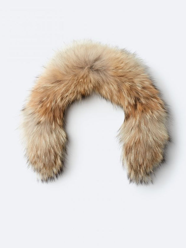 KANUK GOLD FUR WITH ZIPPER - Boutique Bubbles