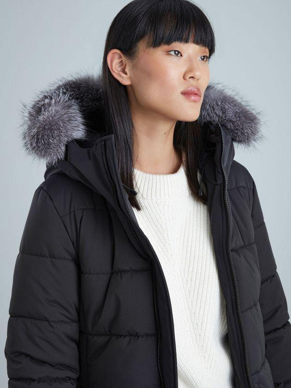 KANUK GRAPHITE FUR WITH ZIPPER - Boutique Bubbles