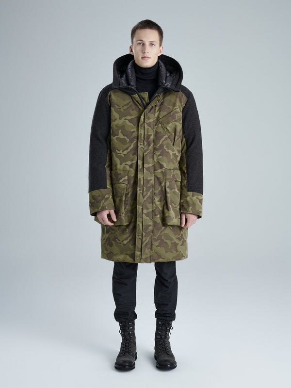 KANUK JONAS Straight fit, 3/4 length coat - Boutique Bubbles