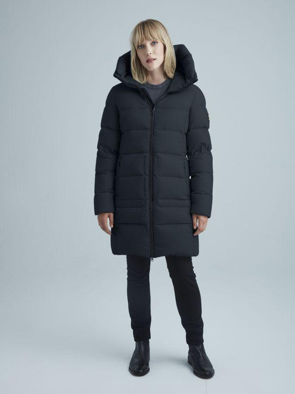 KANUK MARILIA Semi-fitted, above-knee length coat - Boutique Bubbles