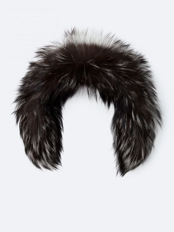 KANUK SILVER FUR WITH ZIPPER - Boutique Bubbles