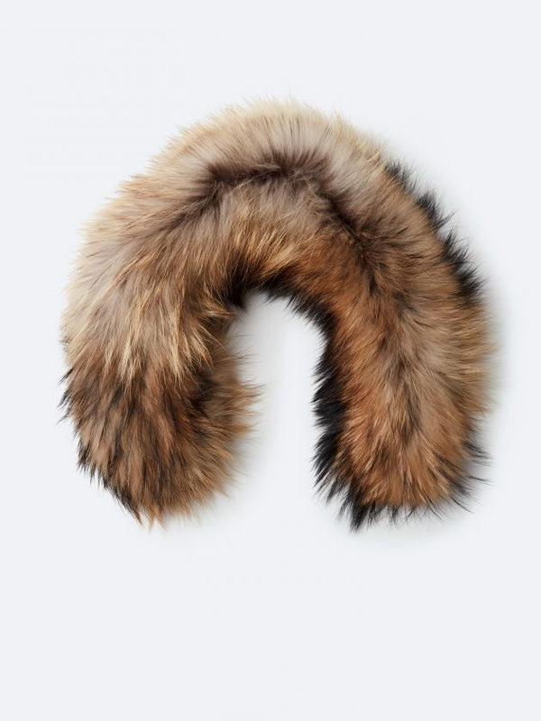 KANUK TAWNY FUR WITH ZIPPER - Boutique Bubbles