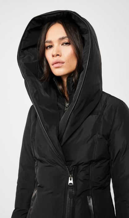 MACKAGE ADALI-NF - down coat with signature collar - Boutique Bubbles