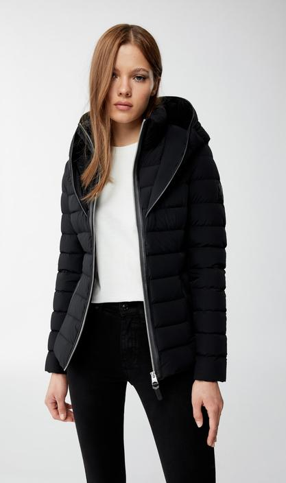 MACKAGE ANDREA - lightweight down jacket with signature collar - Boutique Bubbles