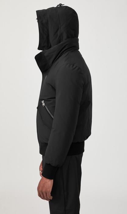MACKAGE DIXON-NF - down bomber jacket with removable hooded bib - Boutique Bubbles