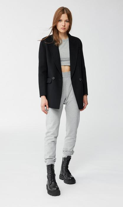 MACKAGE EDINA - double-faced wool double-breasted jacket - Boutique Bubbles