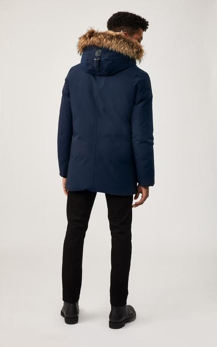 MACKAGE EDWARD - down coat with removable hooded bib & fur trim - Boutique Bubbles