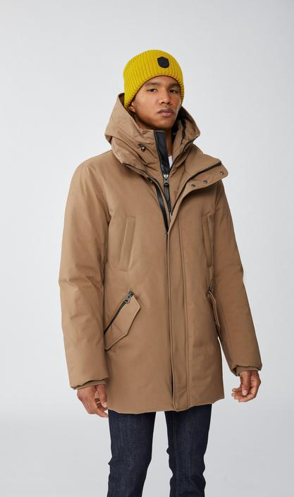 MACKAGE EDWARD-NF - down coat with removable hooded bib - Boutique Bubbles