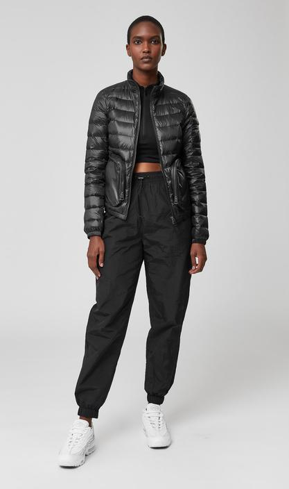 MACKAGE ELENA - Light down funnel jacket with 3D pockets - Boutique Bubbles