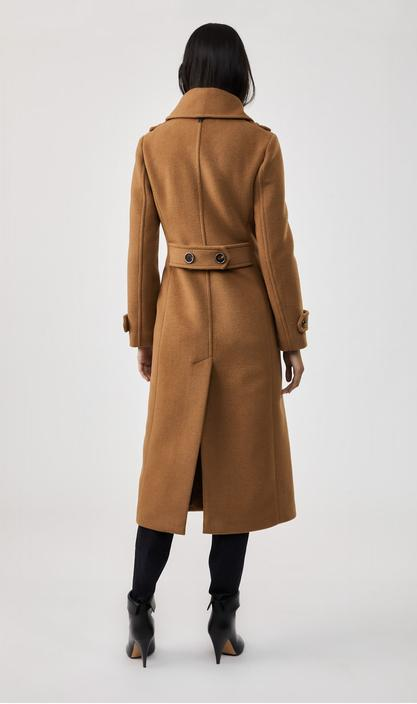 MACKAGE ELODIE - wool double-breasted coat - Boutique Bubbles