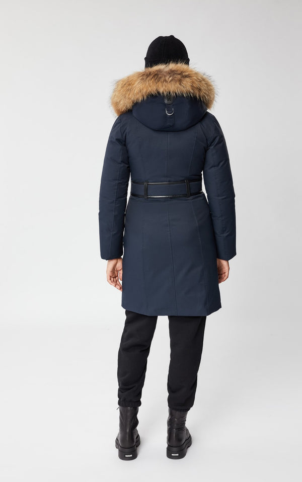 MACKAGE HARLOWE - down coat with removable natural fur - Boutique Bubbles