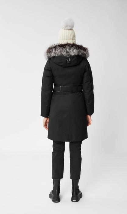 MACKAGE HARLOWE-X - down coat with removable silverfox fur - Boutique Bubbles