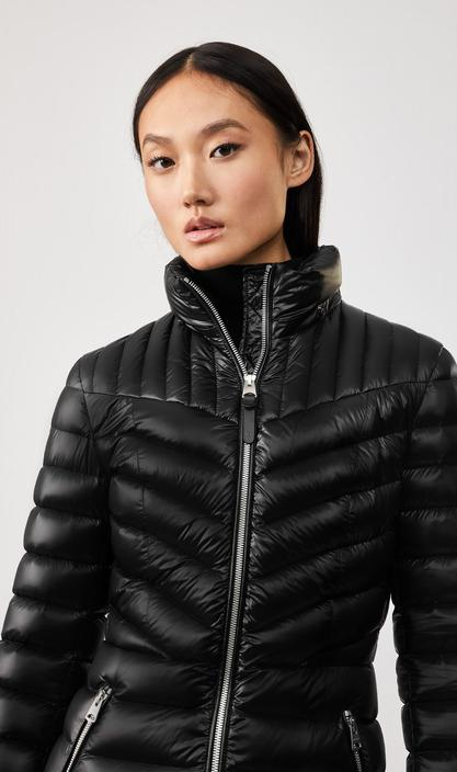 MACKAGE LARA - lightweight down coat with removable hood - Boutique Bubbles