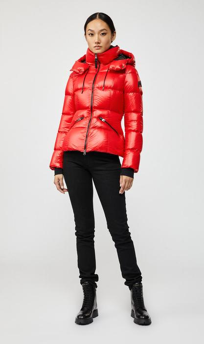 MACKAGE MADALYN - down jacket with removable hood - Boutique Bubbles