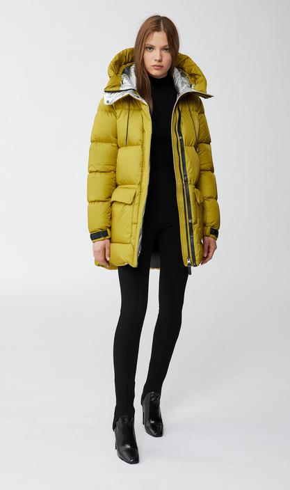 MACKAGE MAISIE - foil shield down jacket with patch pockets - Boutique Bubbles