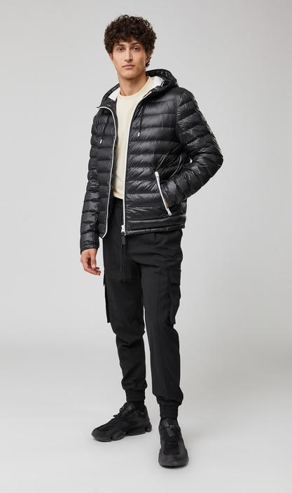 MACKAGE MIKE SAT - light down jacket with drawcord hood and bungee hem - Boutique Bubbles