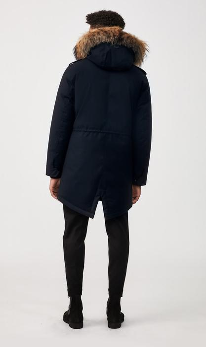 MACKAGE MORITZ-D - down parka with removable natural fur trim - Boutique Bubbles