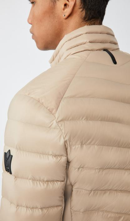 MACKAGE NEAL - lightweight down jacket with fleece panels - Boutique Bubbles