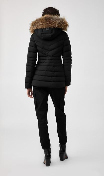 MACKAGE PATSY -down jacket with removable natural fur trim - Boutique Bubbles
