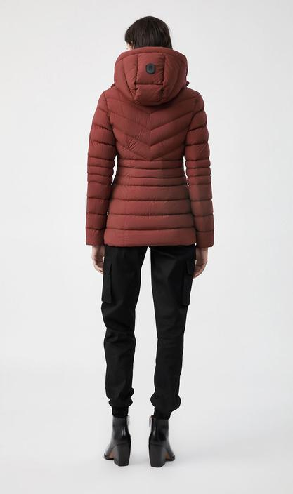 MACKAGE PATSY-NF - lightweight down jacket with removable hood - Boutique Bubbles