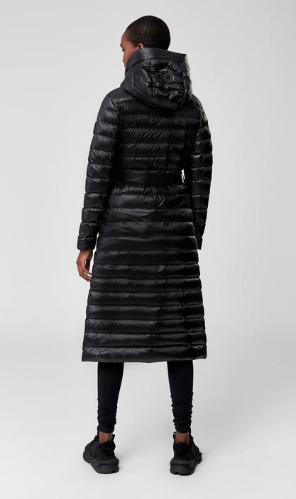 MACKAGE PORTIA - light down belted coat with tunnel hood - Boutique Bubbles