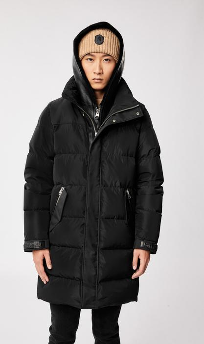 MACKAGE REYNOLD - down coat with removable shearling bib and hood - Boutique Bubbles