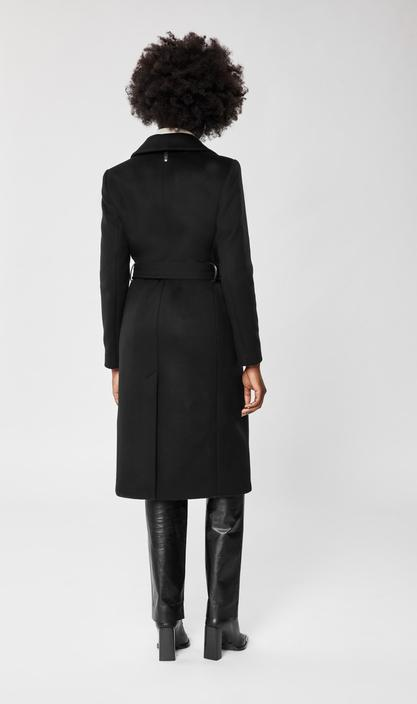 MACKAGE SIENNA - SIENNA tailored wool-cashmere coat with sash belt - Boutique Bubbles