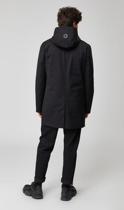 MACKAGE THORIN - 2-in-1 twill trench coat with removable down liner - Boutique Bubbles