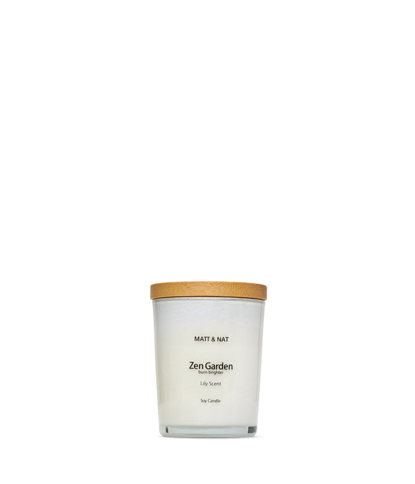MATT&NAT ZEN GARDEN Candle - Boutique Bubbles
