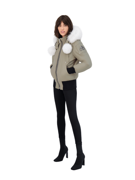 MOOSE KNUCKLES - DEBBIE BOMBER - Boutique Bubbles