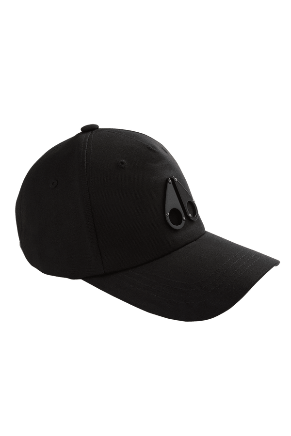 MOOSE KNUCKLES - SPACE AGE GUN METAL LOGO CAP - Boutique Bubbles