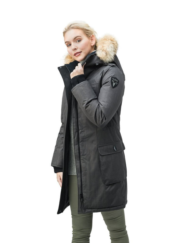 NOBIS ABBY - Ladies Thigh Length Parka - Boutique Bubbles