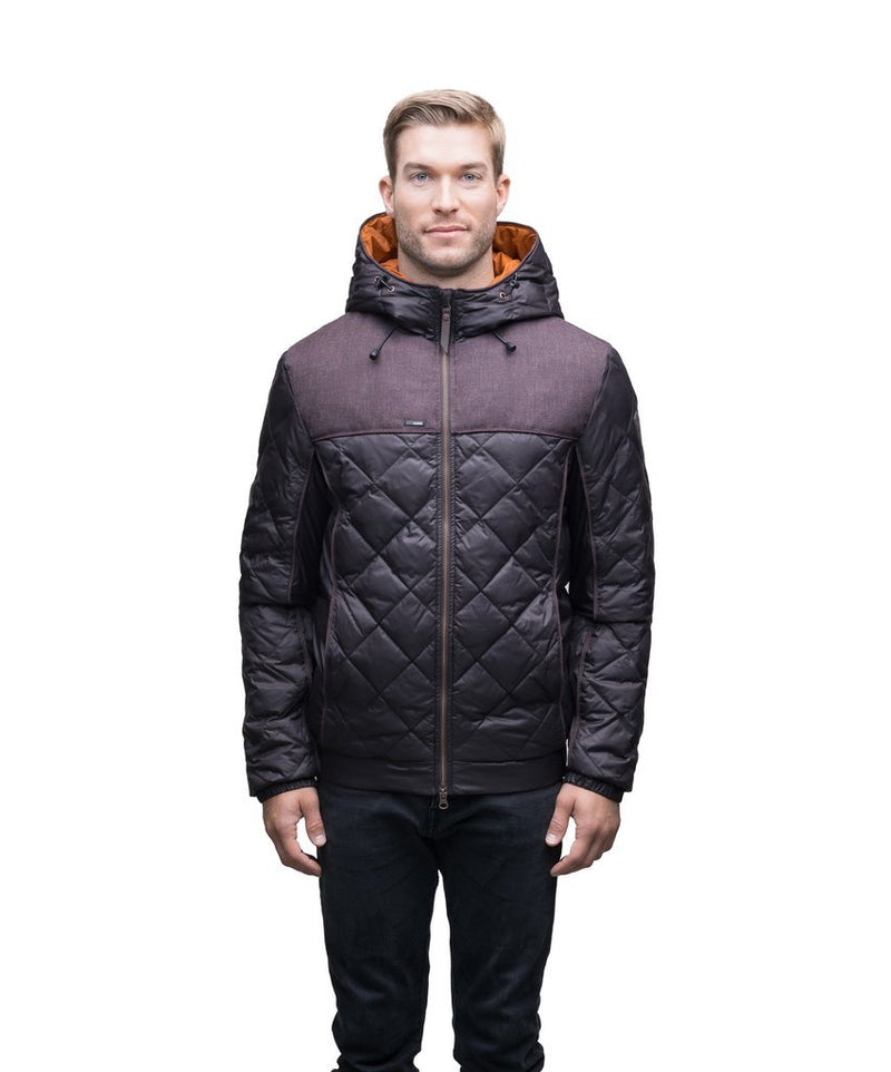 NOBIS ELROY - Men's Quilted Hooded Jacket - Boutique Bubbles
