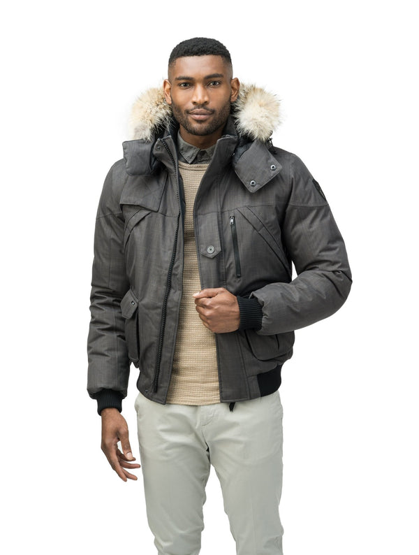 NOBIS HIGGINS - Mens Bomber Jacket - FINAL SALES - Boutique Bubbles