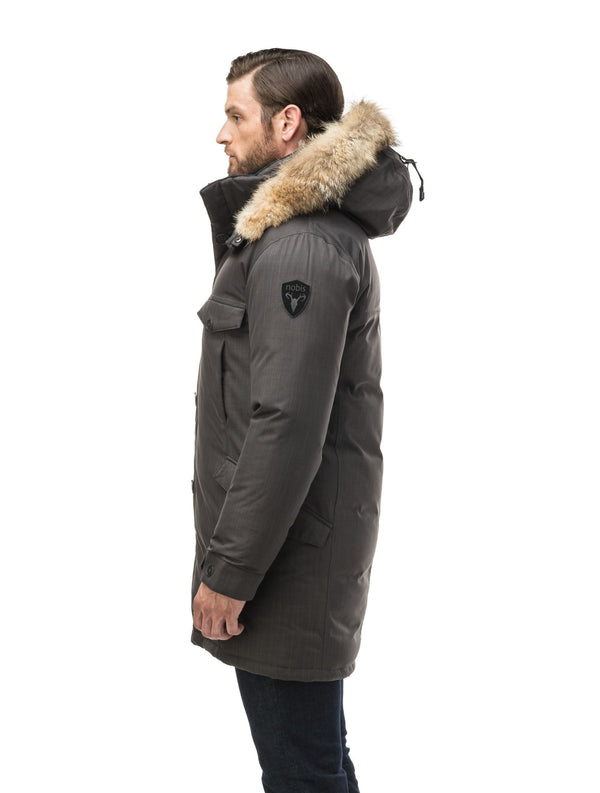 NOBIS JOHAN - men's long parka - Boutique Bubbles