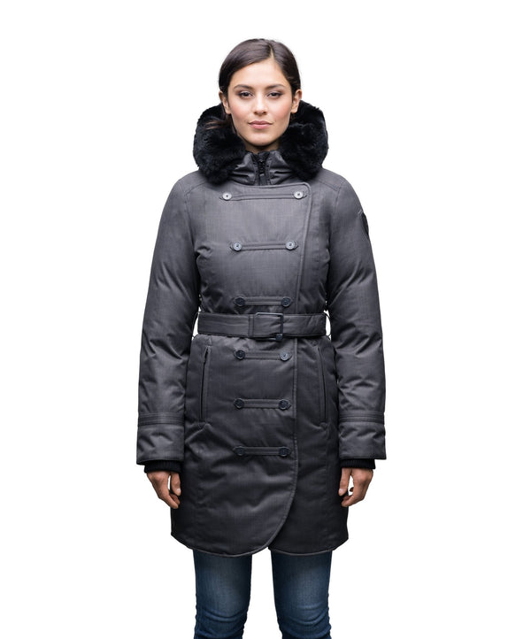 NOBIS URSULA - Ladies Double Breasted Coat - FINAL SALE - Boutique Bubbles