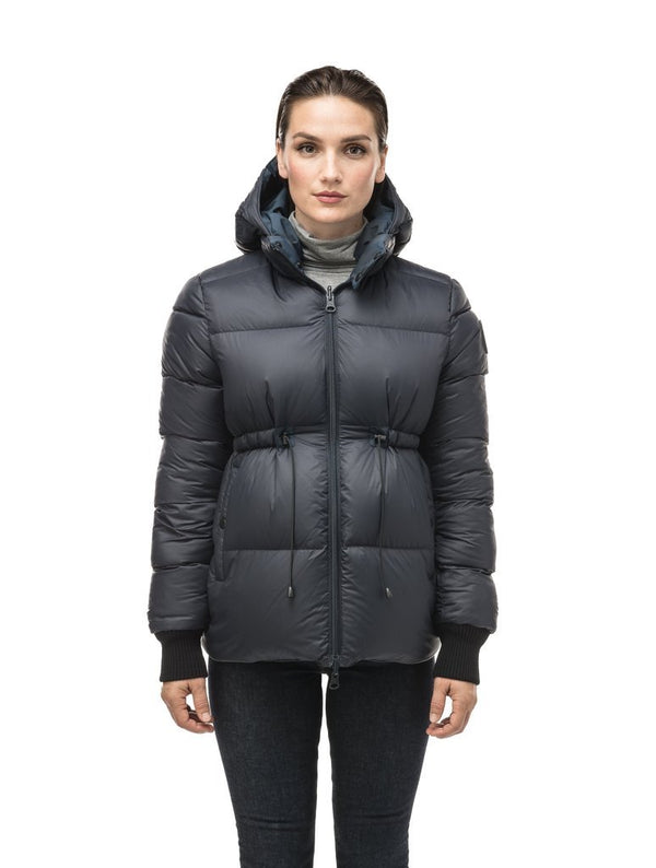 NOBIS VIOLA - Ladies Reversible Puffer Jacket - Boutique Bubbles