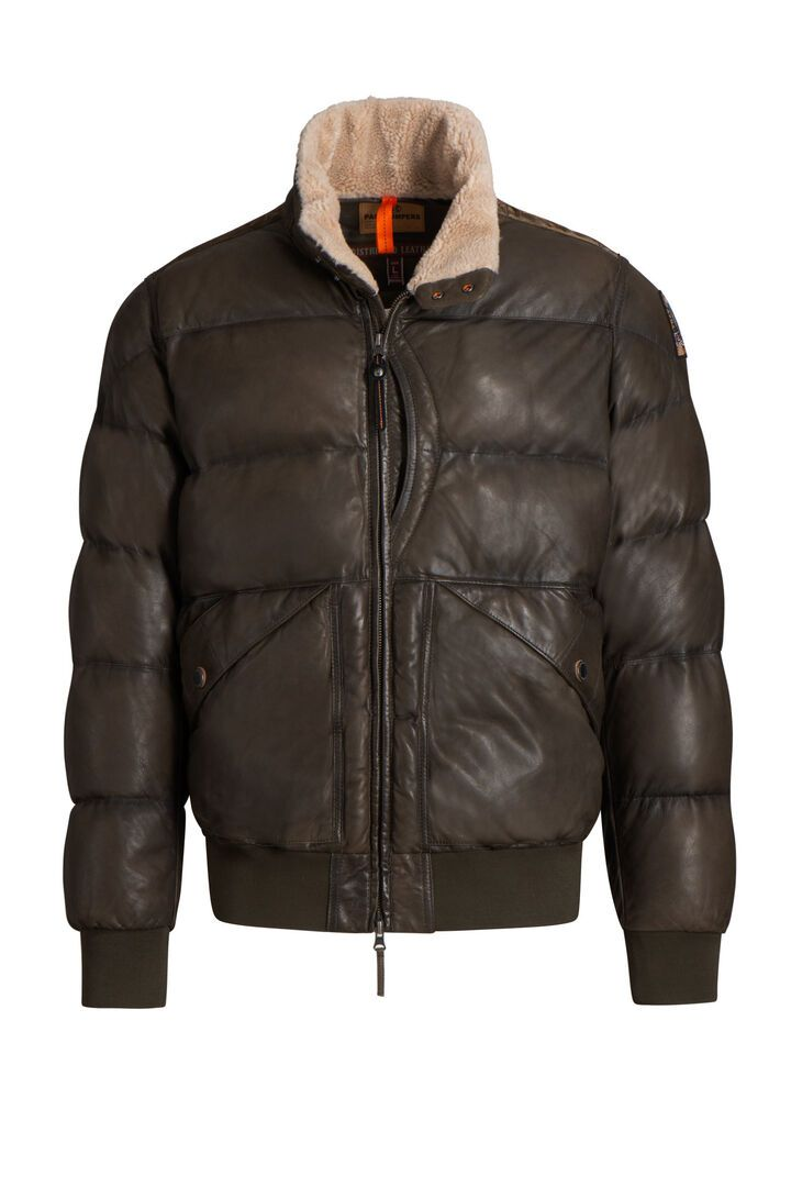 PARAJUMPERS ALF LEATHER - Boutique Bubbles