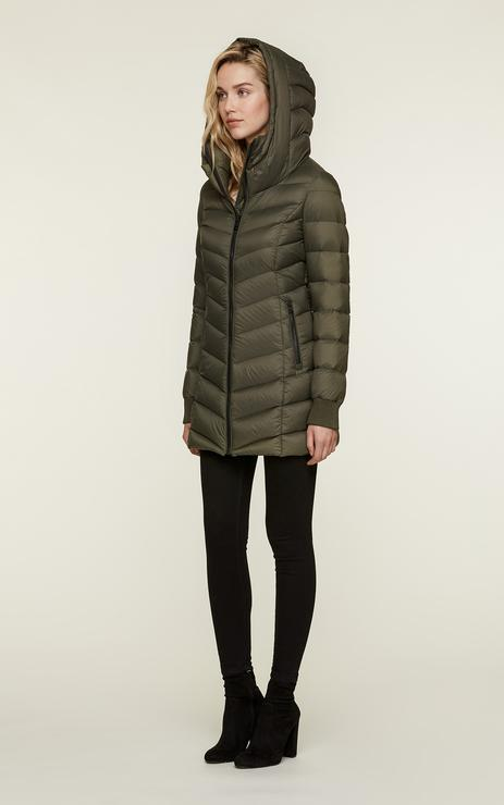 SOIA&KYO ALANIS - water-repellent lightweight down coat - Boutique Bubbles