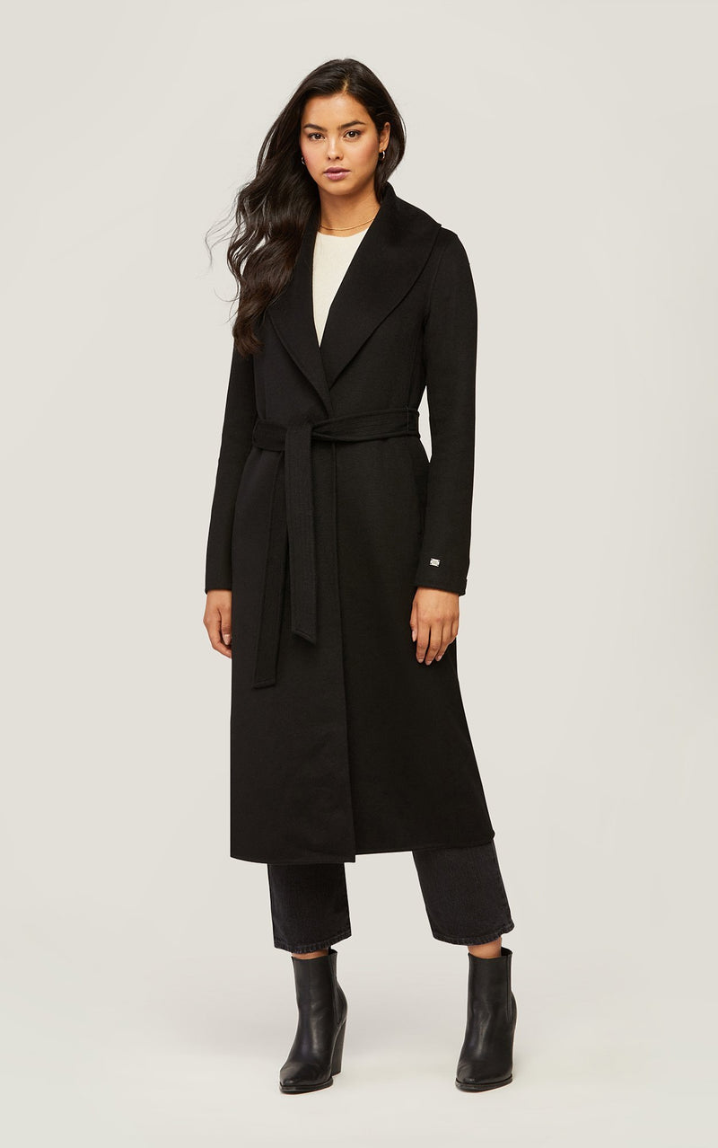 SOIA&KYO ELEONORE - calf-length double-face wool coat - Boutique Bubbles