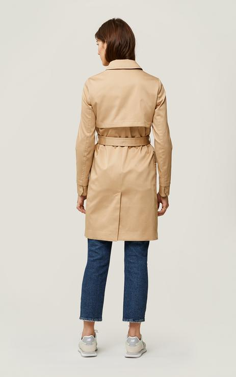 SOIA&KYO MARNI - semi-fitted water-repellent trench coat - Boutique Bubbles