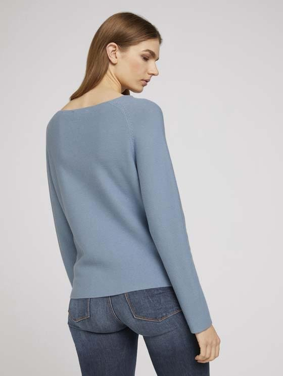 TOM TAILOR - Structured Raglan Pullover - Boutique Bubbles