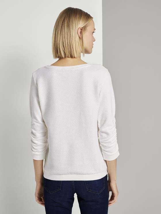 TOM TAILOR - Structured sweater - Boutique Bubbles