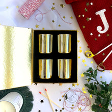 Load image into Gallery viewer, Gold Christmas Gift Set
