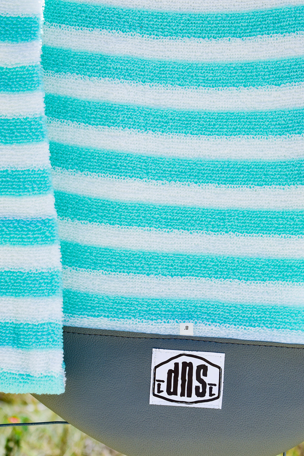 SUP Board Sock (Green & White Stripe)