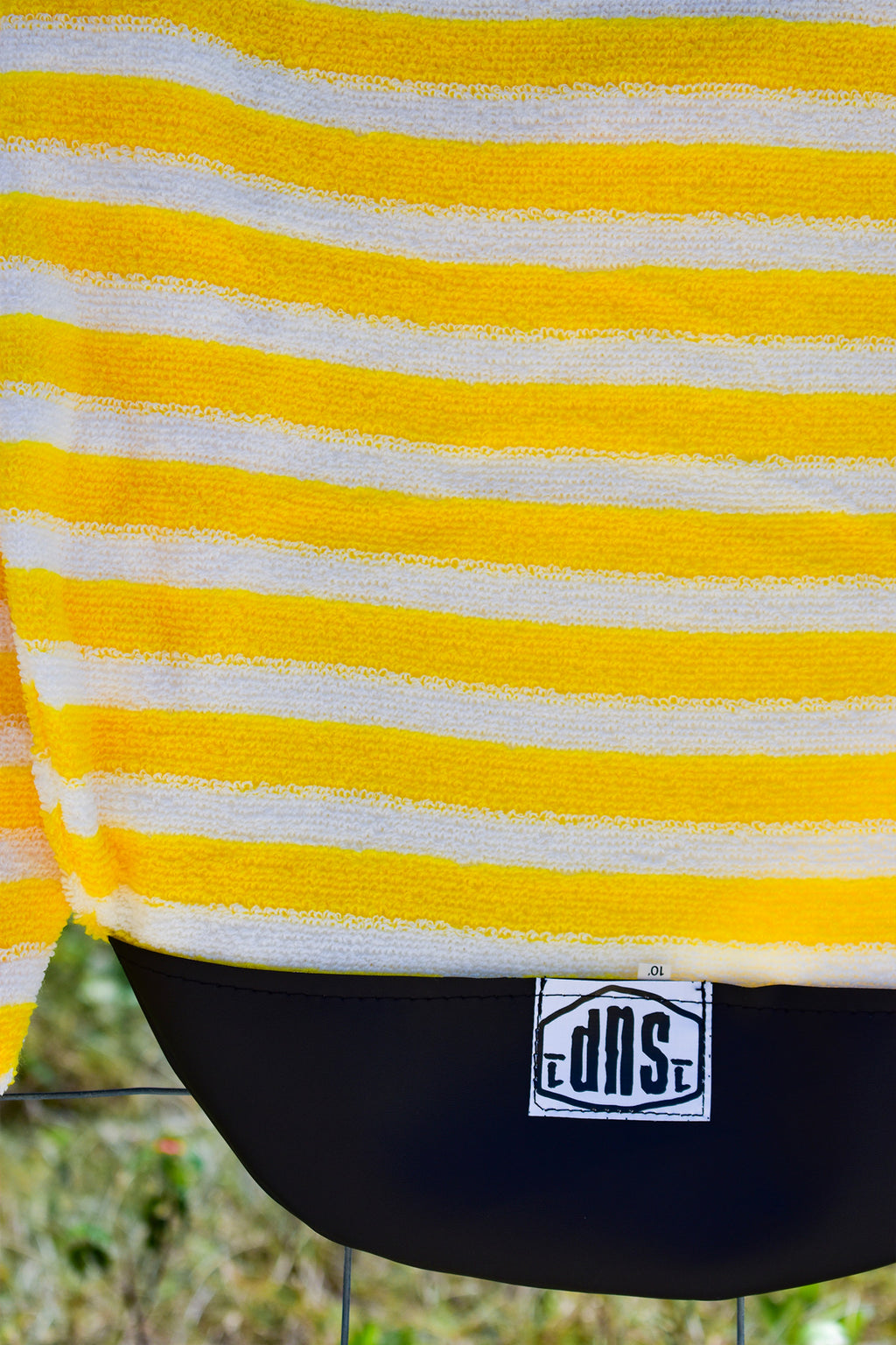 SUP Board Sock (Yellow & White Stripe)