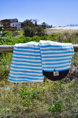 SUP Board Sock (Grey, Black & White Stripe)