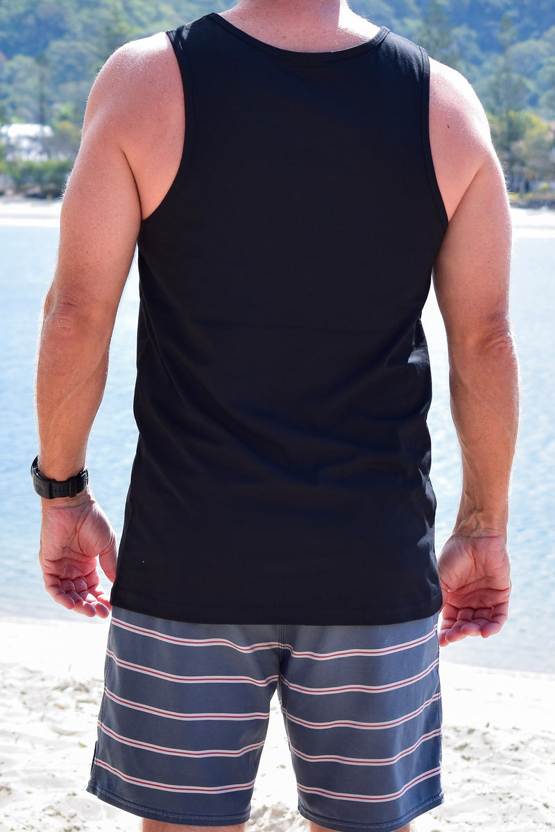 Men's Small Logo Singlet