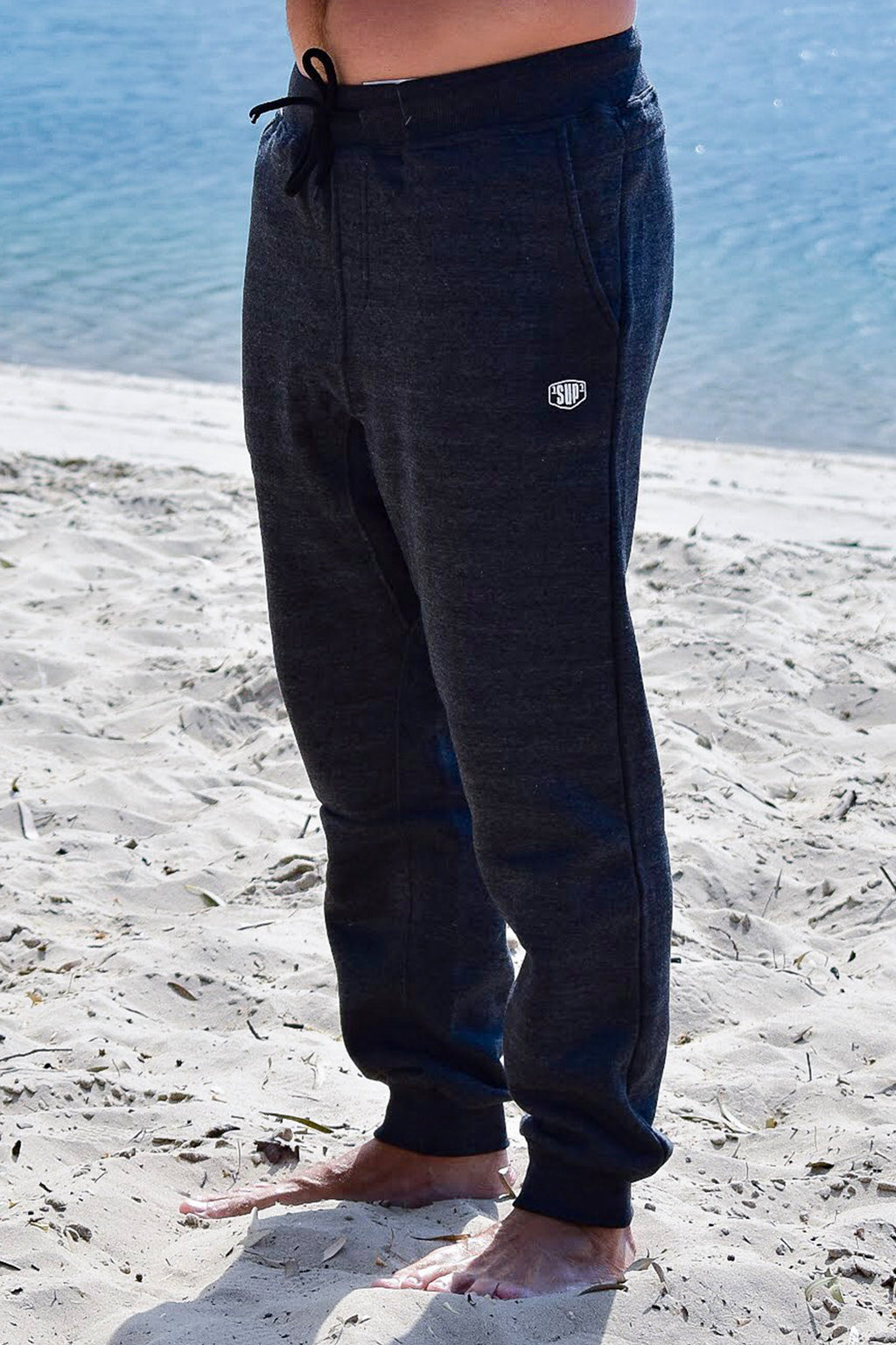 """Hiawatha Road"" Track Pants (Charcoal)"