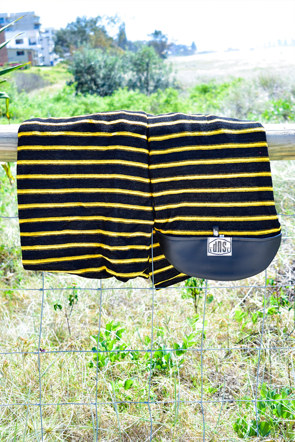 SUP Board Sock (Yellow & Black Stripe)